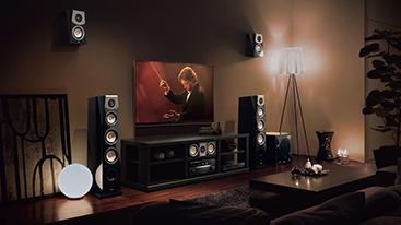 Priestorový zvuk a domáce kino