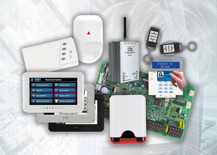 Elektronický zabezpečovací systém – EZS časť.2