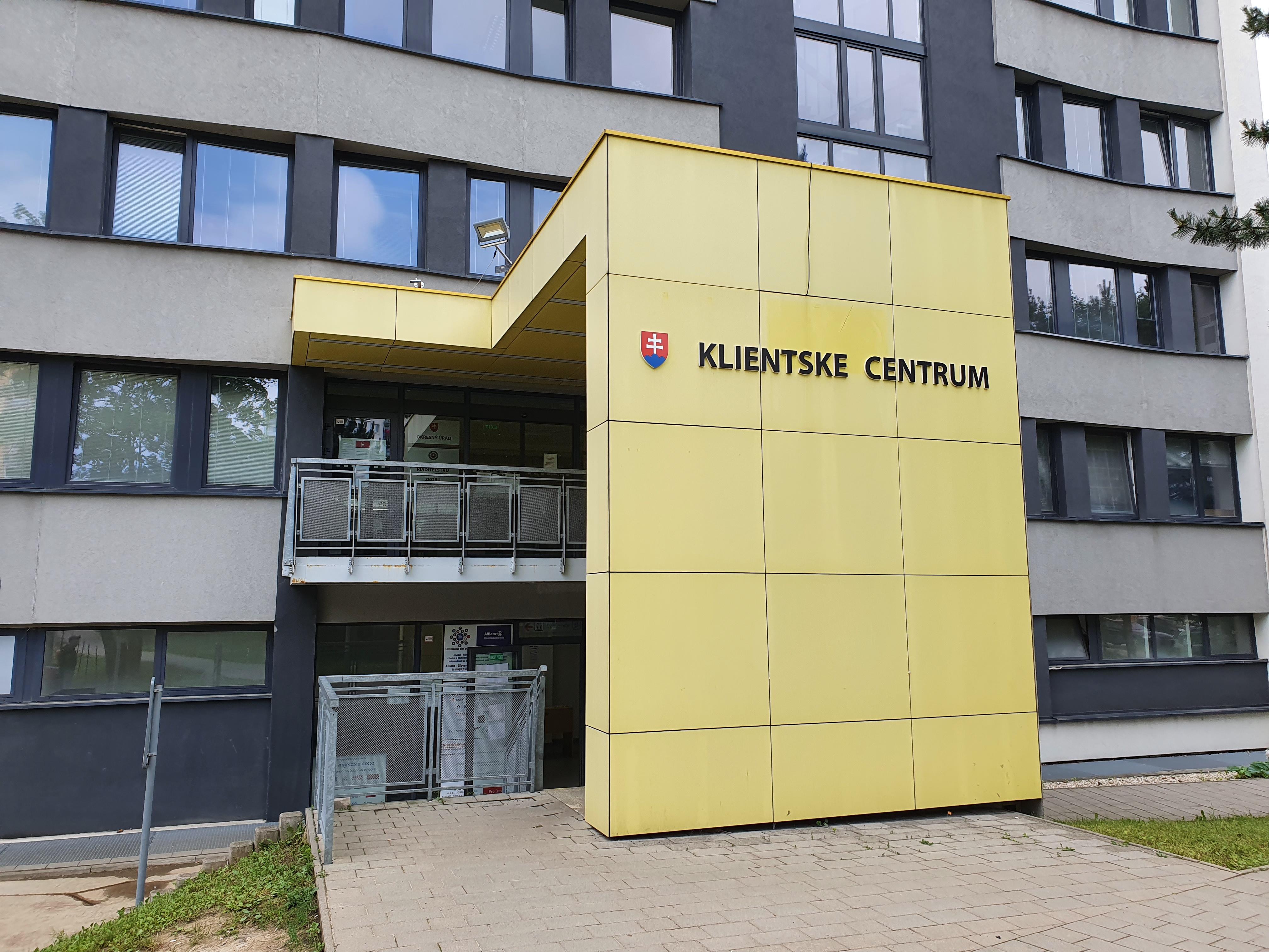 Klientské centrum Vranov n.T.