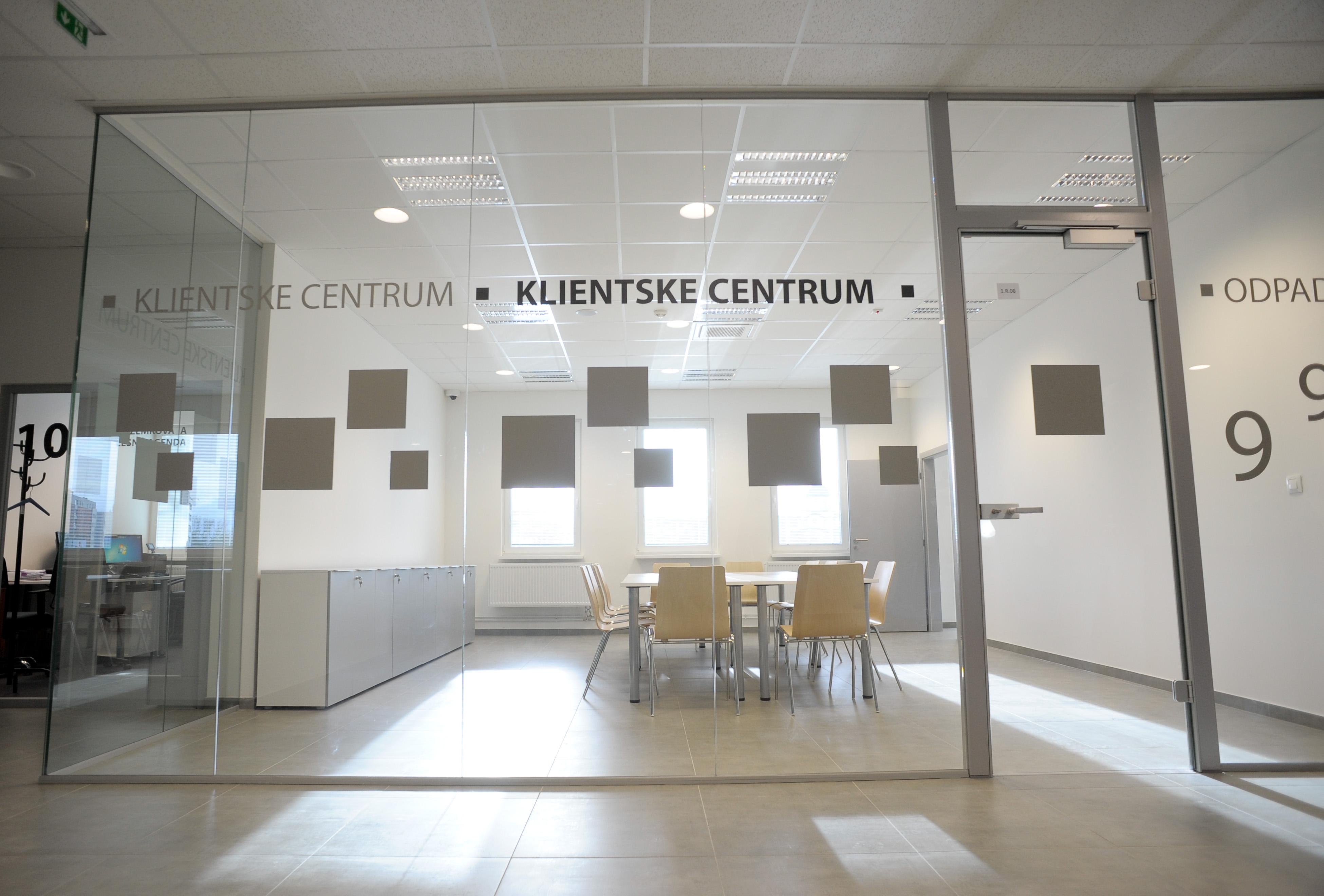 Klientské centrum